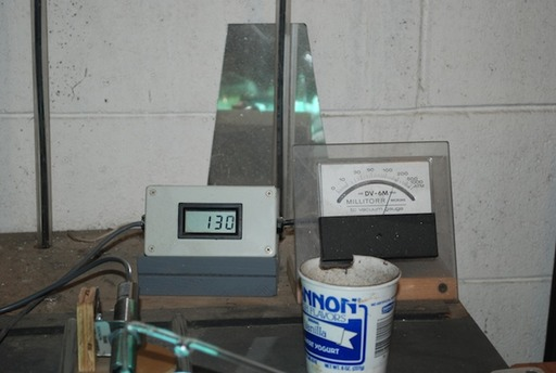 The process of processing a neon tube.. (43)